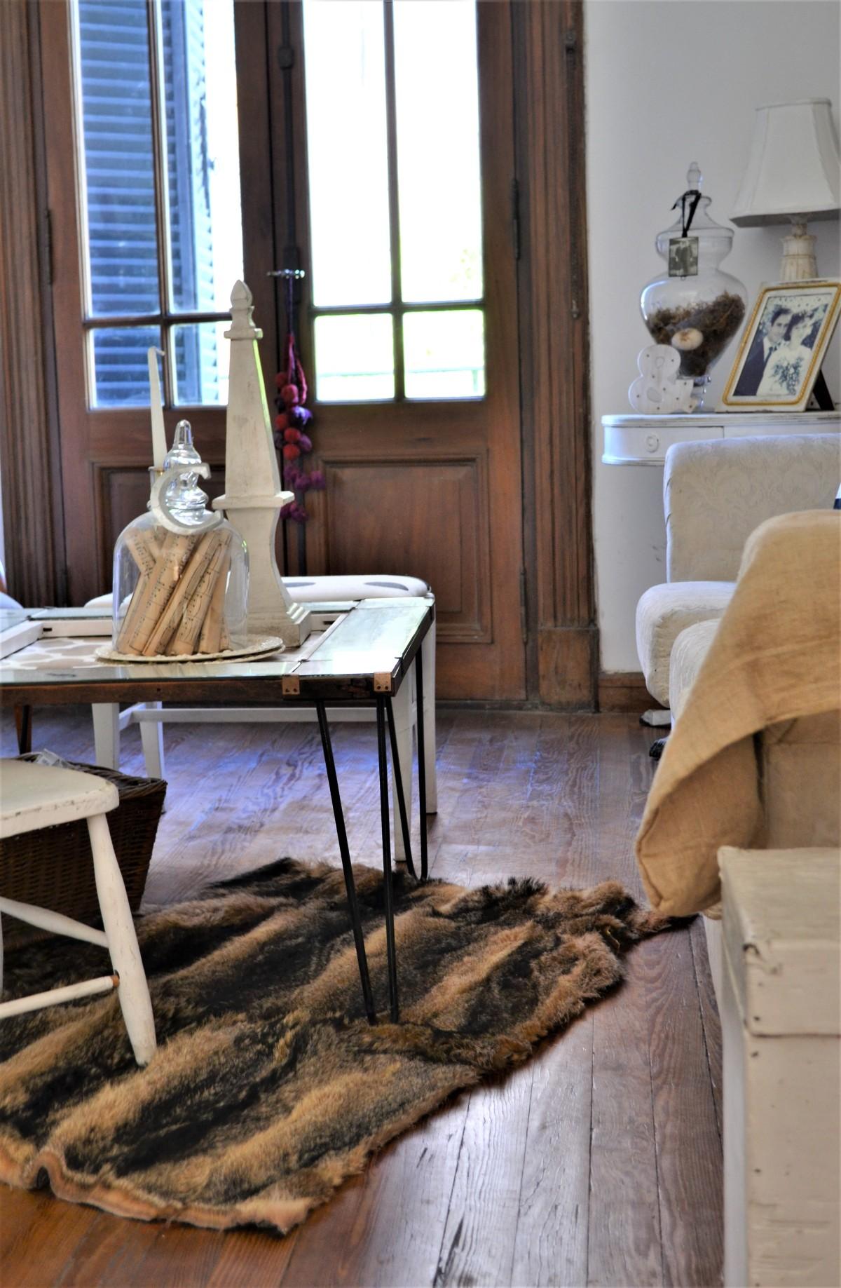 DIY fur rug 5