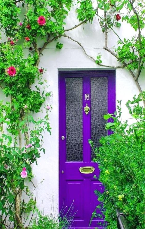 purple-front-door-with-red-brick