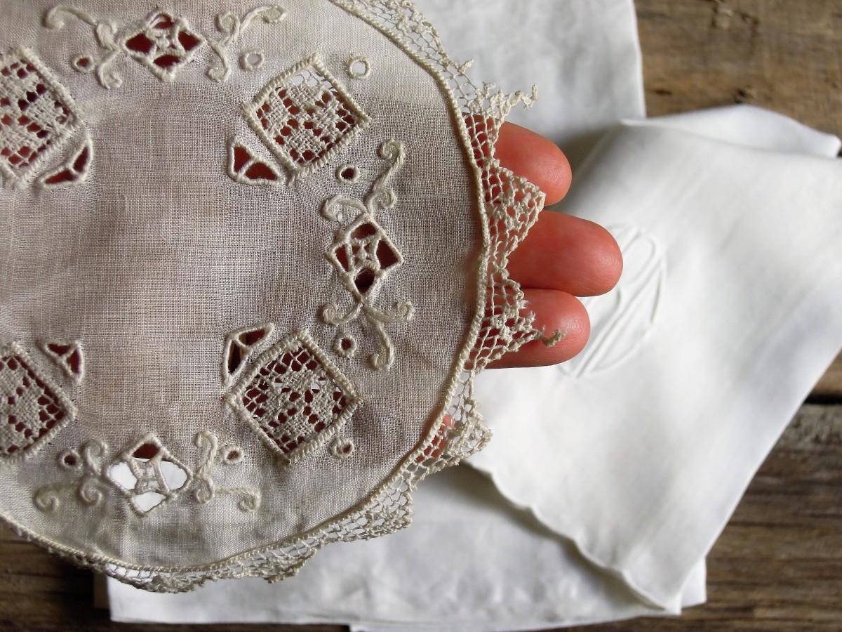 Vintage linens care