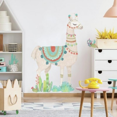 watercolor-llama-giant-wall-decals